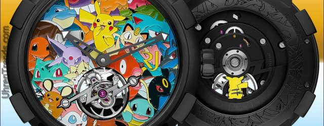 Romain Jerome Tourbillon Pokémon Watch Kosten 200.000 $
