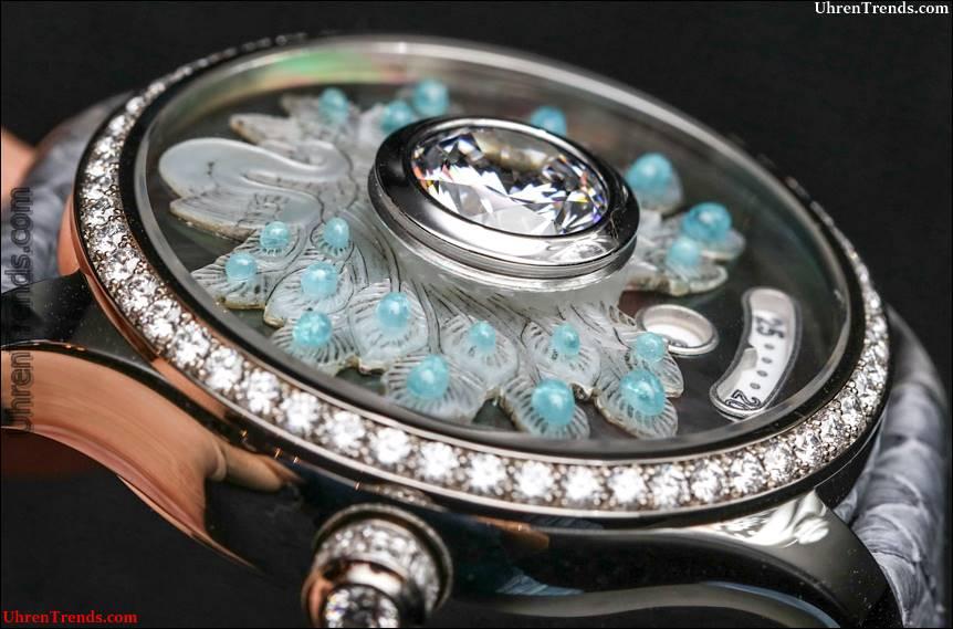 De Tournemire Uhren Set wirklich große Diamanten im Kristall
