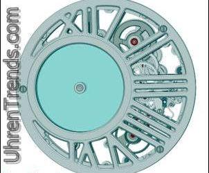 Cartier Rotonde De Cartier Geheimnisvolle Stunde Skeleton Uhr