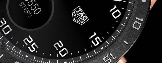 TAG Heuer Verbundene Smartwatch in Roségold