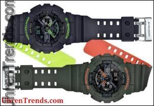 Casio G-Shock GA110LN Schichten Neonfarben Uhren