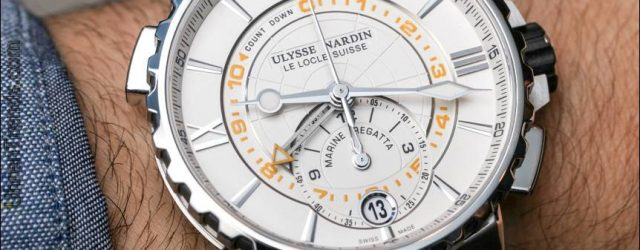 Ulysse Nardin Marine Regatta Uhr Hands-On
