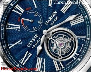 Ulysse Nardin Marine Torpilleur Militär, Classico Manufacture & Marine Tourbillon Uhren für SIHH 2018
