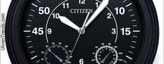 Citizen Wall & Desk Uhren mit Designs basierend auf Uhrziffern