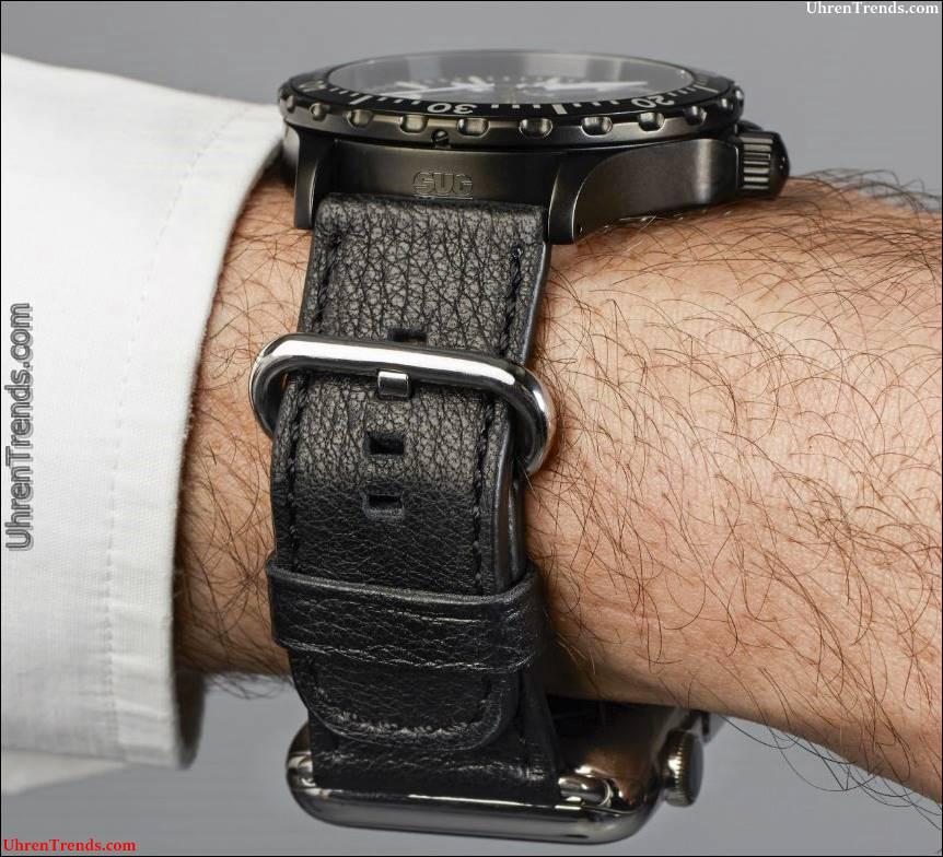 Sinn Dual Strap System ermöglicht Apple Watch & Sinn Watch auf dem gleichen Handgelenk
