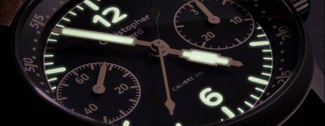 Christopher Ward C9 Me 109 Chronographenuhr mit Einzelschieber