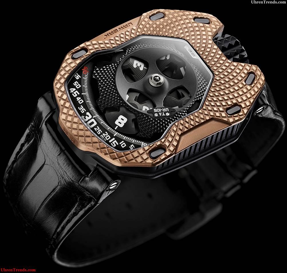 Urwerk UR-105 'Raging Gold' Uhr