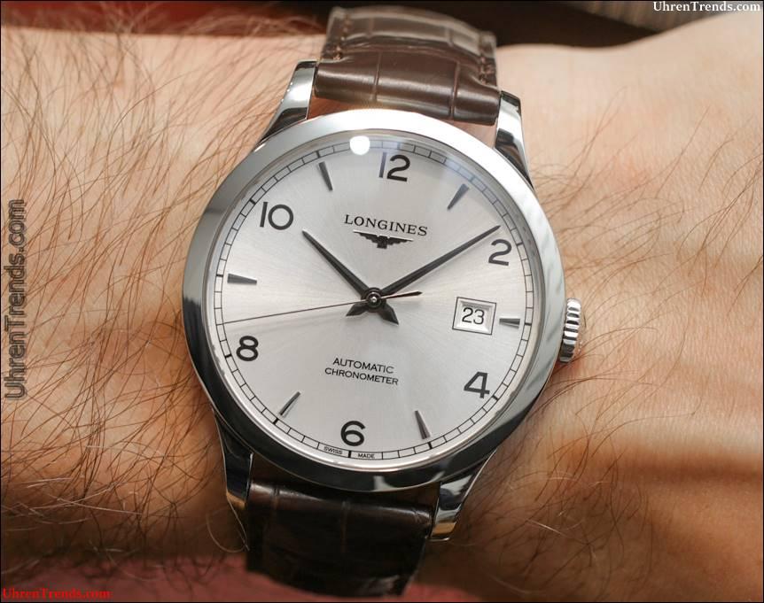 Longines Record Watch Kollektion zum Anfassen