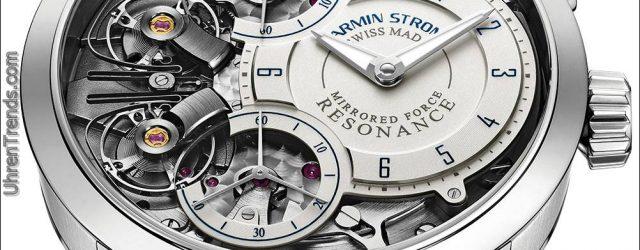 Armin Strom gespiegelte Kraft Resonanz Wasser Uhr in Stahl