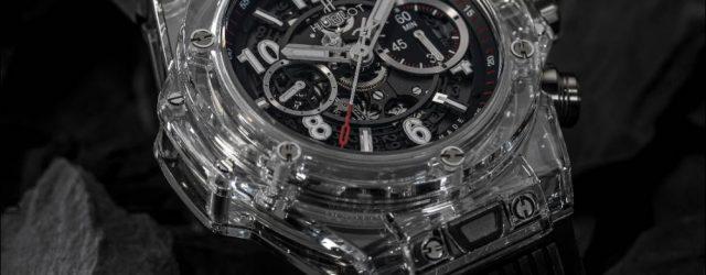 Hublot Big Bang UNICO magische Saphir Uhr