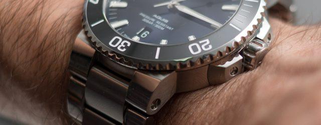 Oris Aquis Date Blue Dial Uhr Bewertung
