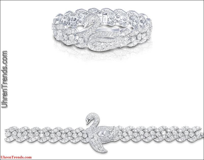 Die Wiederbelebung von Juwelen-gedeckten Damen-Geheimuhren