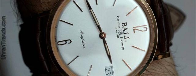 Ball Trainmaster Manufaktur Uhr Hands-On