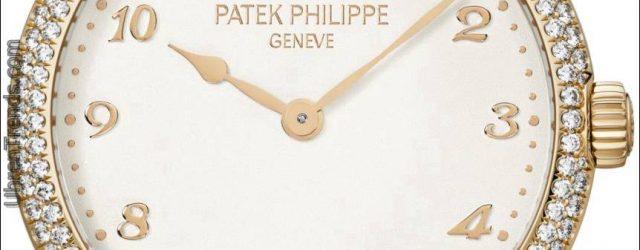 Die Patek Philippe Calatrava 7200 / 200R Uhr stellt die Flamme Gemsetting Technik vor