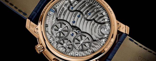 Graham Geo.Graham Orrery Tourbillon Astronomische Uhr mit Stücken des Mondes, Mars und Erde