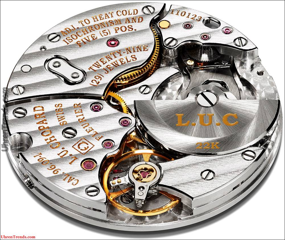 Chopard L.U.C XPS Uhr Twist QF Fairmined