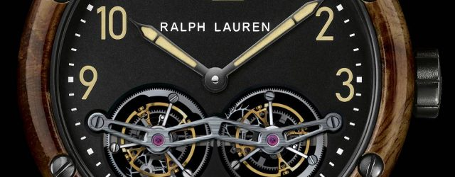 Ralph Lauren RL Automobil Tourbillon & Double Tourbillon Uhren