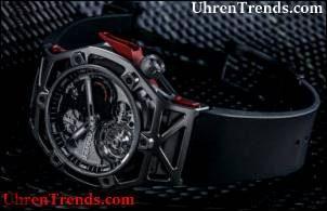 Hublot Techframe Ferrari Tourbillon Chronograph Uhr feiert Ferrari's 70th Anniversary