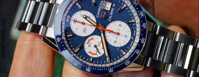 TAG Heuer Carrera Kaliber 16 Chronograph Uhr Hands-On