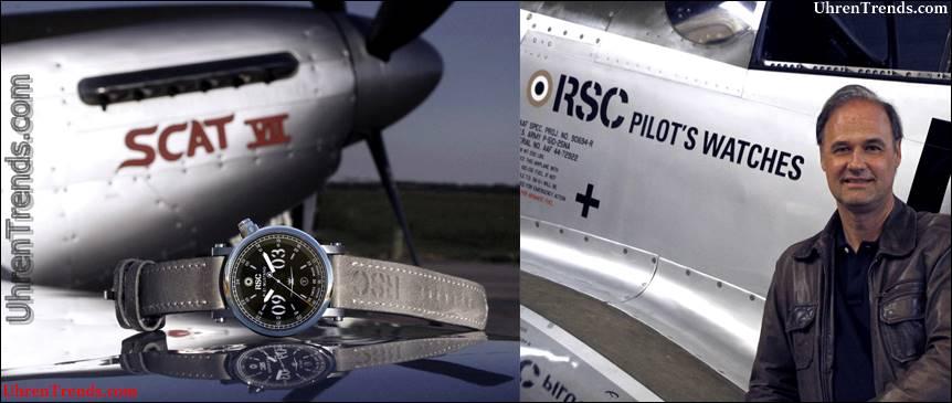 RSC P-51 Mustang SCAT7 Fliegeruhr