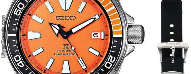 Seiko Prospex 'Orange Samurai' SRPB97 Uhr