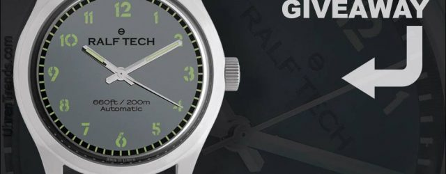 Gewinner angekündigt: Ralf Tech Académie Automatic 'Ranger'