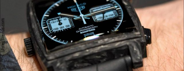 TAG Heuer Monaco Chronograph geschmiedete Carbon Bamford Edition Hands-On