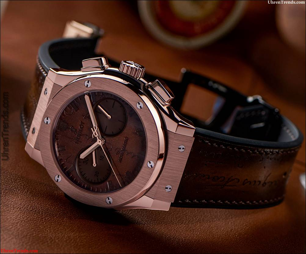 Hublot Classic Fusion Chronograph Berluti Scritto Uhr