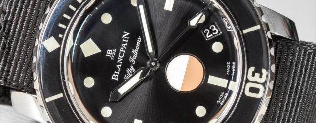 Blancpain Tribut an fünfzig Fathoms Mil-Spec Uhr Hands-On