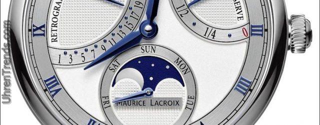 Maurice LaCroix Masterpiece Doppel retrograde und Mond Retrograde Uhren