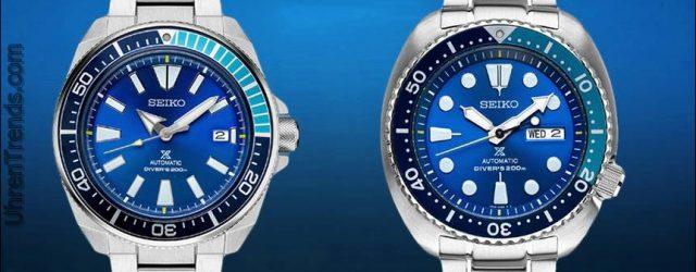 Seiko Prospex Blue Lagoon Uhren erhältlich bei zeitlosen Luxusuhren
