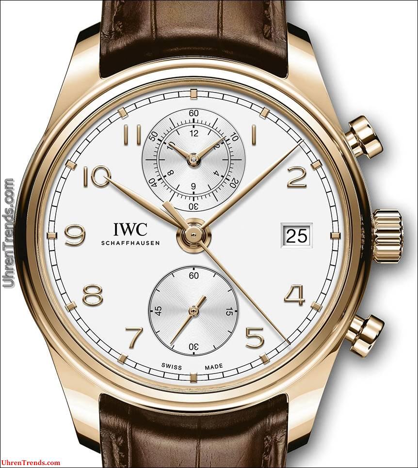 IWC Portugieser Chronograph Klassische Uhr