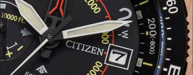 Citizen Promaster Altichron Uhr aktualisiert für 2017 Hands-On