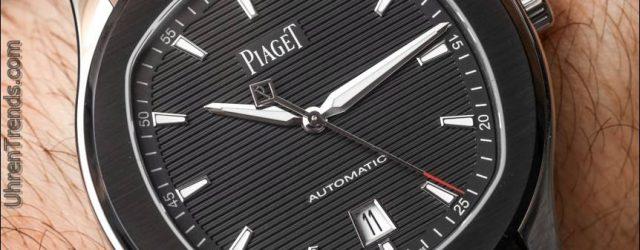 Piaget Polo S Limited Edition schwarze Uhr auf Kautschukband Hands-On