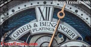 Grieb & Benzinger Blue Merit Uhr basierend auf A. Lange & Söhne Tourbillon Hands-On