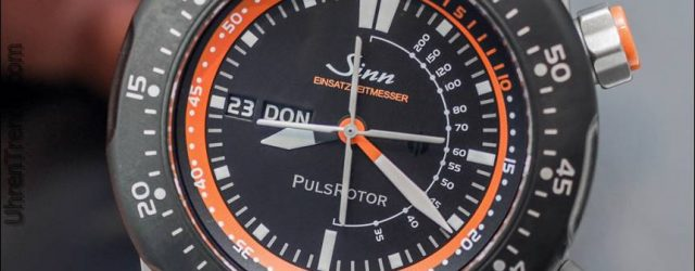 Sinn EZM 12 Air Rescue Uhr Hands-On