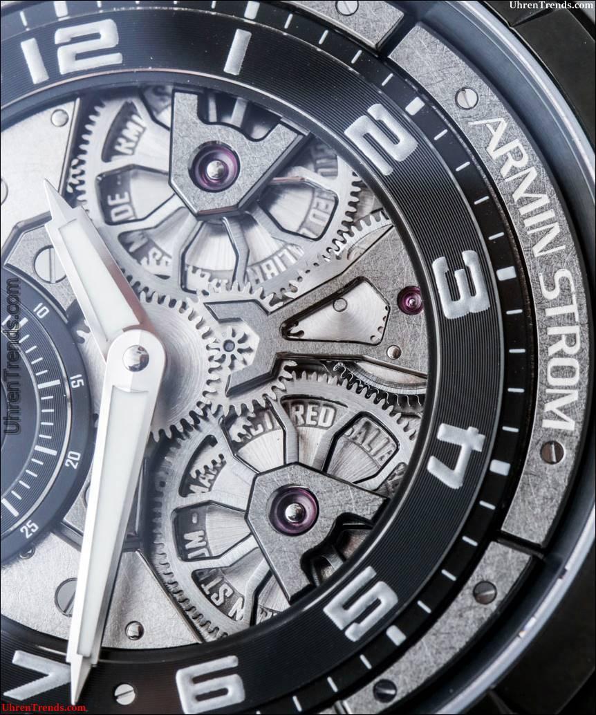 Armin Strom Edge Uhr Hands-On, kommt mit Kunst