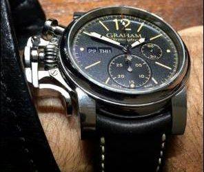 Graham Chronofighter Vintage Uhr Hands-On
