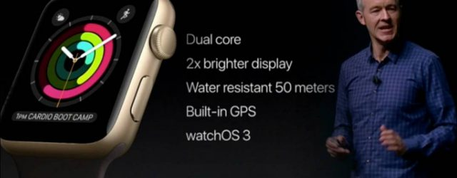 Apple Watch Series 2 Smartwatch Debüt