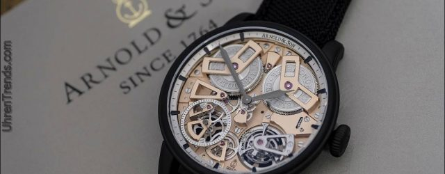 Arnold & Son Tourbillon Chronometer No. 36 Rotgussuhr