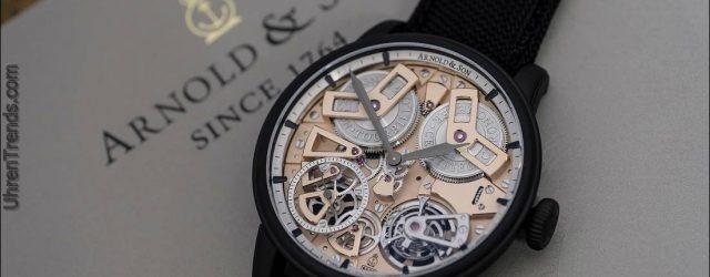 Arnold & Son Tourbillon Chronometer No. 36 Rotgussuhr