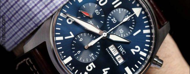 IWC Fliegeruhr Chronograph 3777 Uhren für 2016 Hands-On