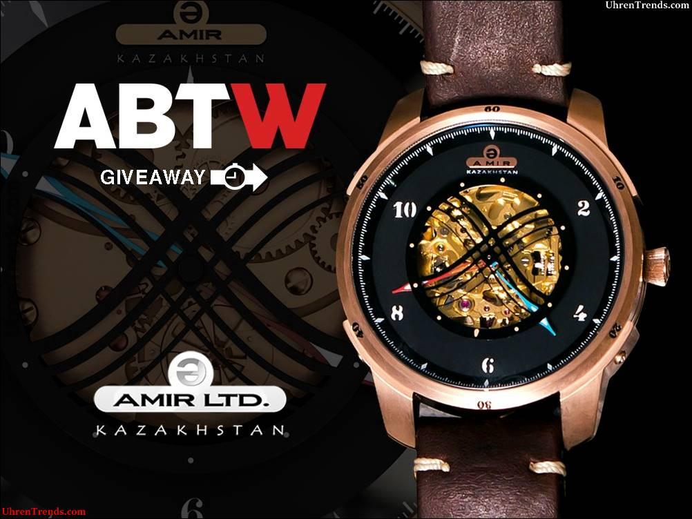 LETZTE CHANCE: Amir Uhren Nomadic Empires Automatic Watch Werbegeschenk