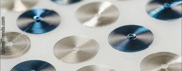Wie Balancefeder im Haus produziert werden Bei H. Moser & Cie.