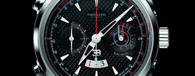 Parmigiani Bugatti Aerolithe Performance Titan Uhr