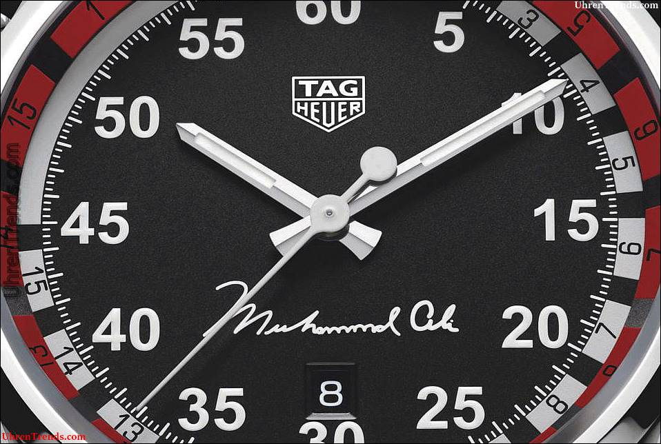 TAG Heuer Carrera Calibre 5 Ring Meister Muhammad Ali Watch