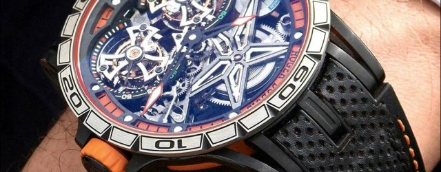 Roger Dubuis Excalibur Spider Doppel Flying Tourbillon Uhr