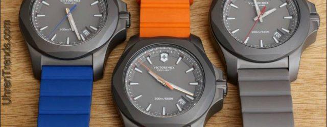 Victorinox Schweizer Armee INOX Titanium Uhr Hands-On