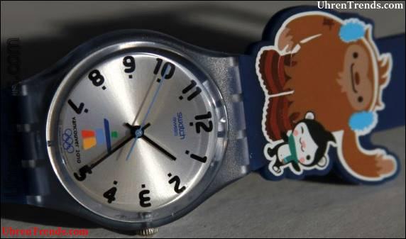 Swatch feiert die Olympischen Spiele 2010 in Vancouver: Happy Games, Sportfreunde und Top-Uhren