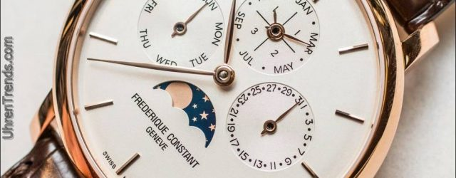 Frédérique Constant Slimline Ewiger Kalender Manufaktur Uhr Hands-On